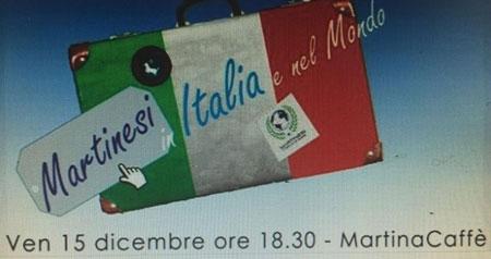 MARTINA FRANCA- MARTINESI IN ITALIA E NEL MONDO.