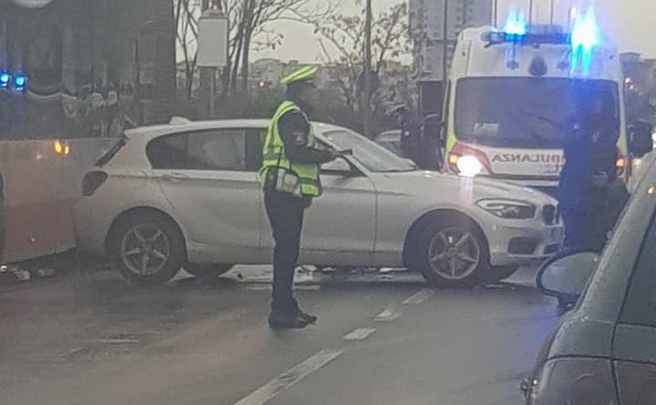 Taranto incidente Viale Unità d'Italia