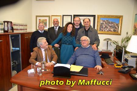 Matera-Incontro Comitato Taranto Futura con i media locali