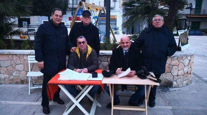 """COMITATO PROMOTORE PER IL REFERENDUM DELLA MAGNA GRECIA """"TARANTO FUTURA""""-PUNTI DI RACCOLTA FIRME"""