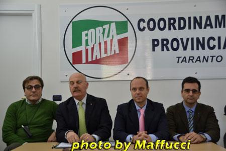 Taranto-Forza Italia-Comunicato stampa in merito alle consultazioni del sindaco Melucci
