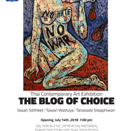 Evento artistico internazionale – Thai Contemporary Art Exhibition – The blog of choice