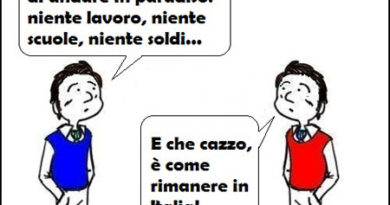 Le Vignette di Valterinik: Siamo Italiani