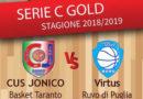 Basket: 13ª giornata campionato serie C Gold, al Palafiom arriva la TecnoSwicht dell'ex Laquintana.