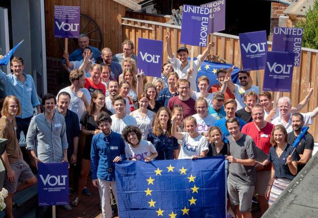 Ecco Volt, nuovo Movimento europeo