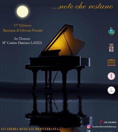 """""""Emozioni concertistiche""""   37^ edizione  Rassegna di giovani pianisti"""