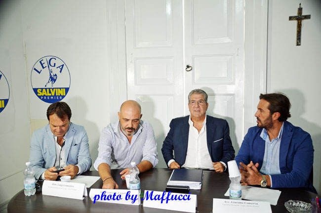 Lega Salvini Premier Taranto Conferenza stampa