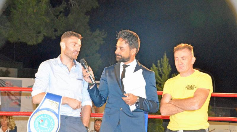 A Pulsano serata di boxe con atleti da tutta la Puglia