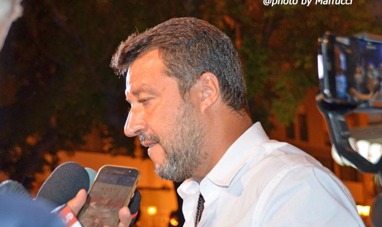 Taranto- Salvini, un trionfo