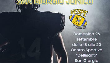 Vespe San Giorgio Jonico, tutto pronto per l'Open Day Tackle